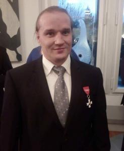 Erkki Miinala, the chairman of Old Power